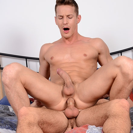 Billy Rubens Spurts Like A Fountain After Rugby-Tackling His Buddy's Well-Fuckable Ass! HD