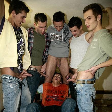 Cock-sucking, piss-draining frenzy