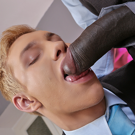 Blond Beauty Student Gets A Mega Black Cock Stuffing Courtesy Of Devon LeBron! HD