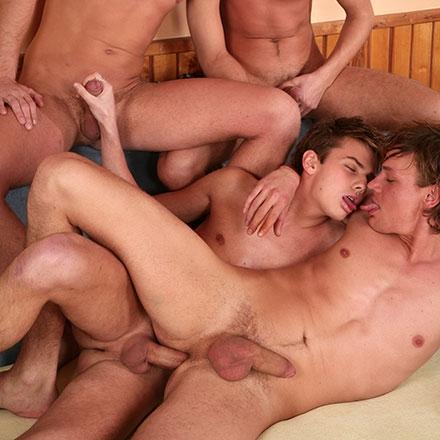 Army Orgy!!