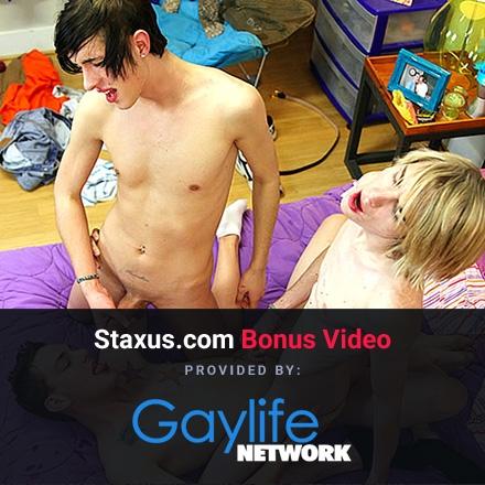 Bonus Content: Breaking Him In (Gay Life Network) Scene #1 HD