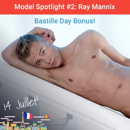 Staxus Model Spotlight #2: Ray Mannix - Bastille Day Bonus! HD