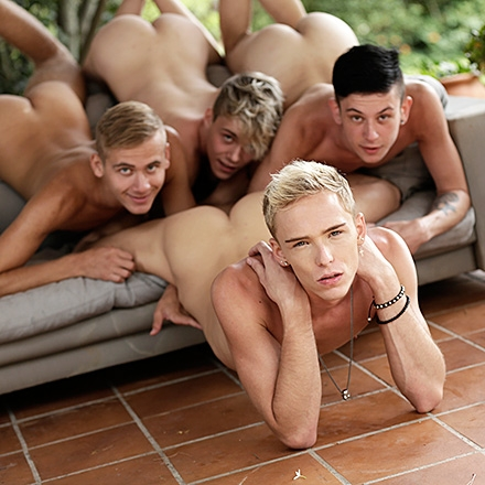 Four Horny Dudes Take The Drive Of Their Lives For Hard Cock! 1 (Sunny Daze Scene #3 - Part 1 HD)