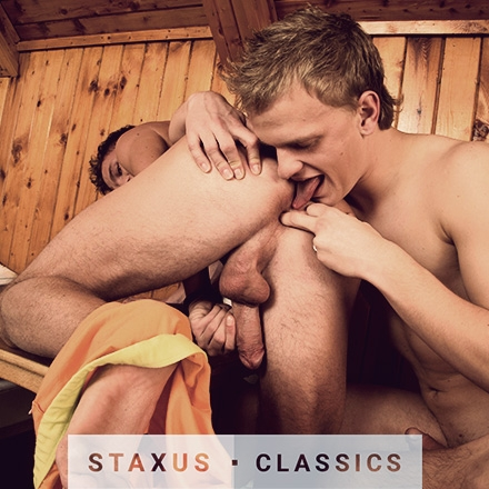 Staxus Classic: Bareback Frat Pack - Scene 2 - Remastered in HD