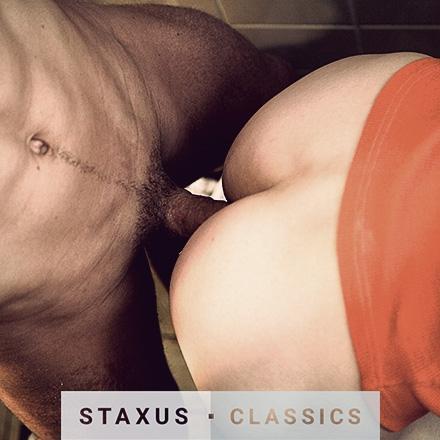 Staxus Classic: Bareback Frat Pack - Scene 4 - Remastered in HD