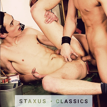 Staxus Classic: Bareback Sleaze Pit - Scene 3 - Remastered in HD