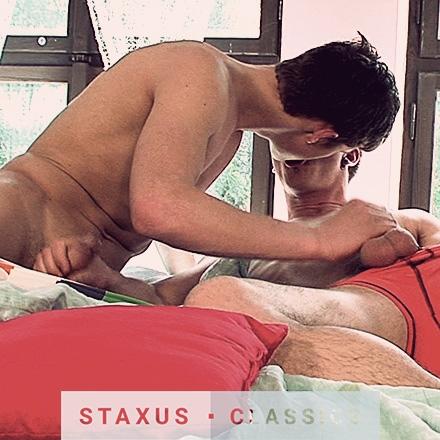 Classique Staxus: Bareback Road Trip - Scène 1 – Remasterisé en HD
