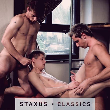 Classique Staxus: Bareback Street Gang - Scène 2 - Remasterisé en HD