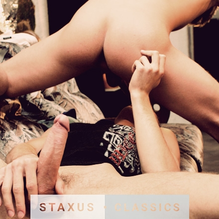 Staxus Classic: Bareback Street Gang- Scenes 3 & 4 - Remastered in HD