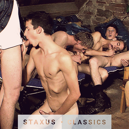 Staxus Classic: Bareback Twink Ranch - Scene 3 - Remastered in HD