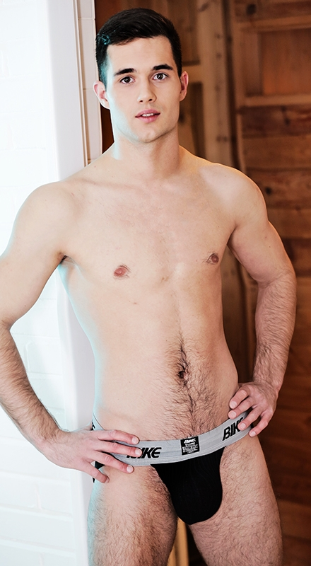 naked bench male model