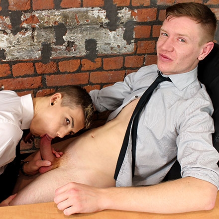 Hot, Horny Cute Boy Takes Every Suited Inch This Older Lad Can Muster! HD