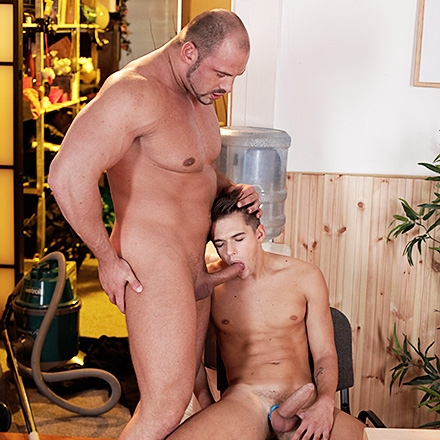 Twink's Sex-Toy Antics Result In Him Being Fucked Like A Toy! (Daddy's Houseboy Scene #2) HD