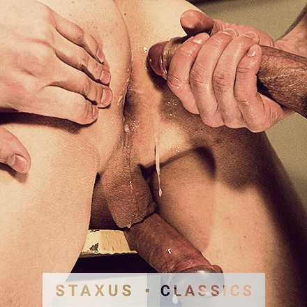 Staxus Classic: Bareback Frat Pack - Scene 1 - Remastered in HD