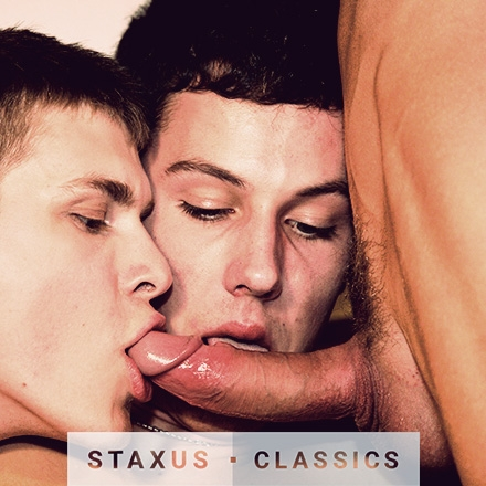Staxus Classic: Bareback Sleaze Pit - Scene 4 - Remastered in HD