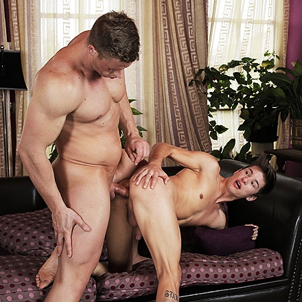 Kneel & Pray, Sc.4: Older Priest Brutally Buggers Hairless Twink To Heaven & Back! HD
