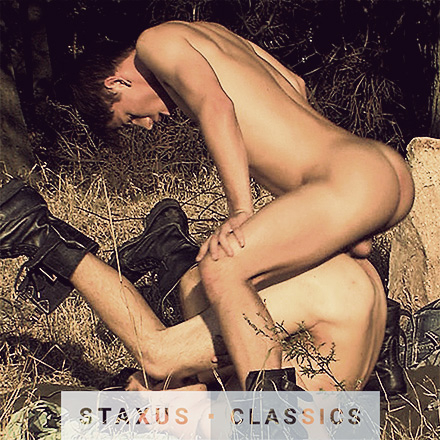 Staxus Classic: Bareback Twink Ranch - Scene 1 - Remastered in HD